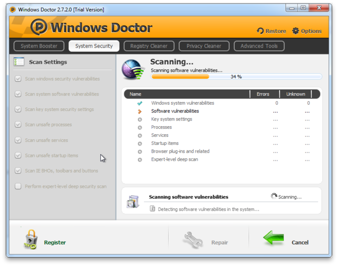 Windows Doctor Screenshot 5