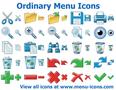 Ordinary Menu Icons 1