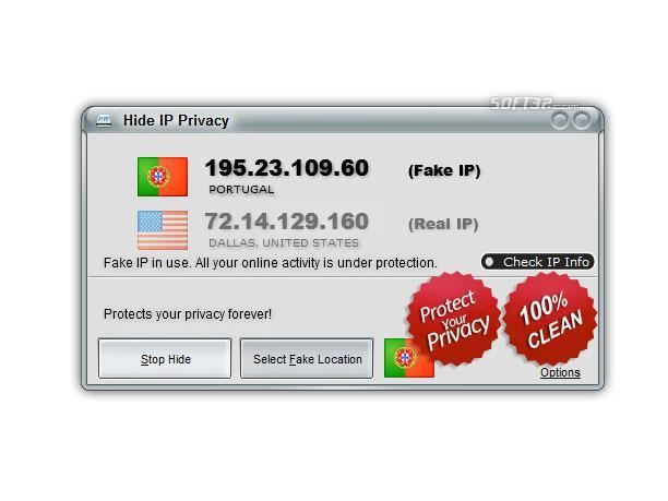 Hide IP Privacy Screenshot 2