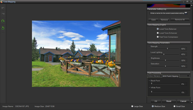 HDR Darkroom Screenshot
