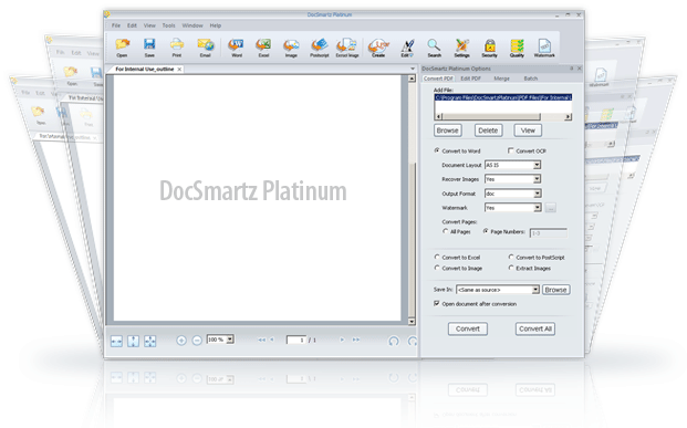 Docsmartz Platinum Screenshot 1