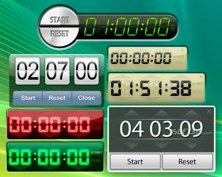 Free Desktop Timer Screenshot 2