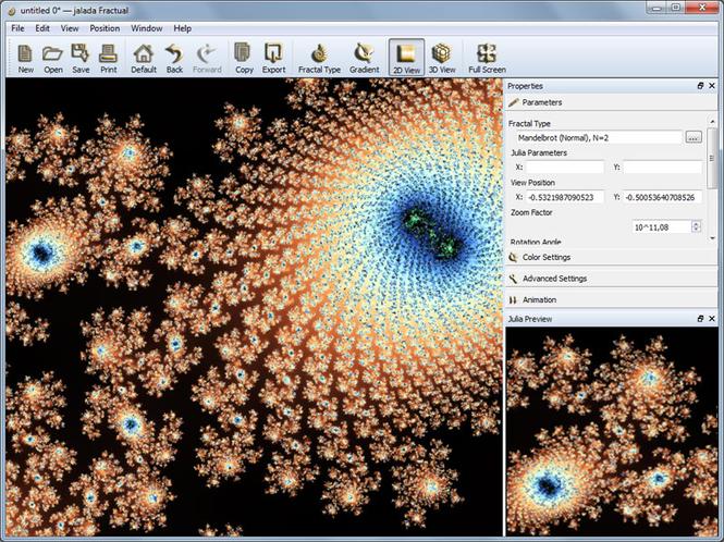jalada Fractual for Windows Screenshot 1