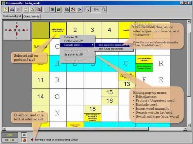 CrosswordJet Screenshot 3