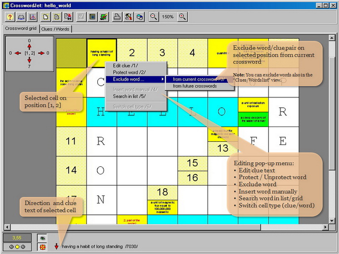 CrosswordJet Screenshot 1