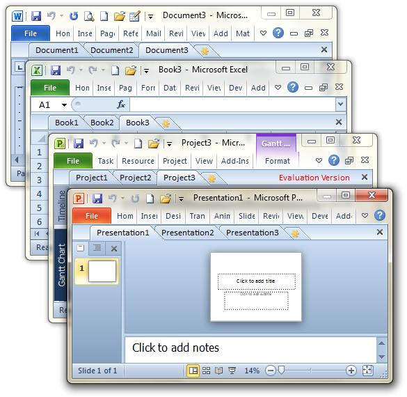 Office Tab Ultimate x64 Screenshot