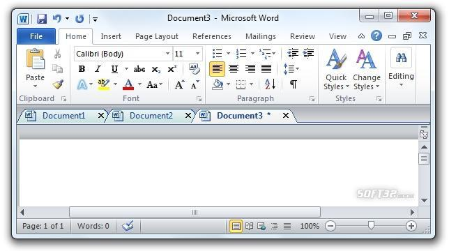 Office Tab Free Edition Screenshot 3