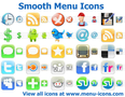 Smooth Menu Icons 1
