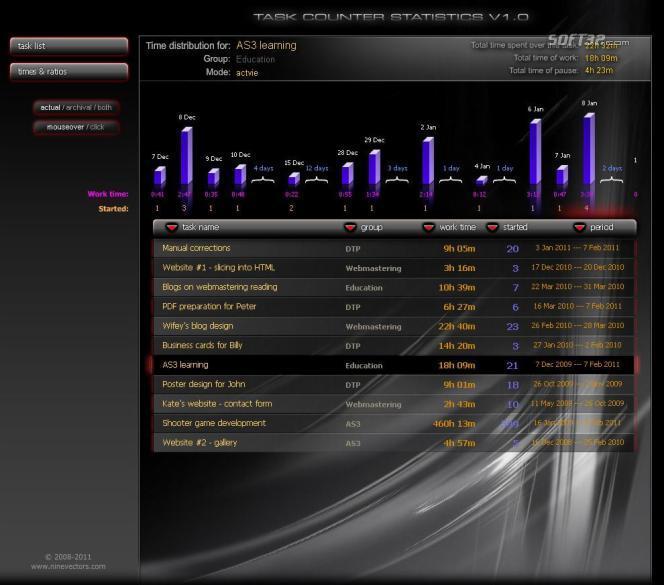 Task Counter Screenshot 2