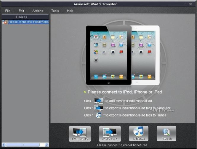 Aiseesoft iPad 2 Transfer Screenshot 2