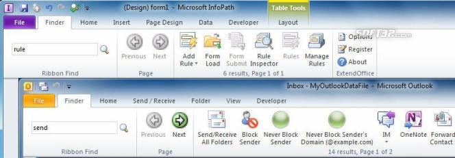 Ribbon Finder for Office Enterprise 2010 Screenshot 2