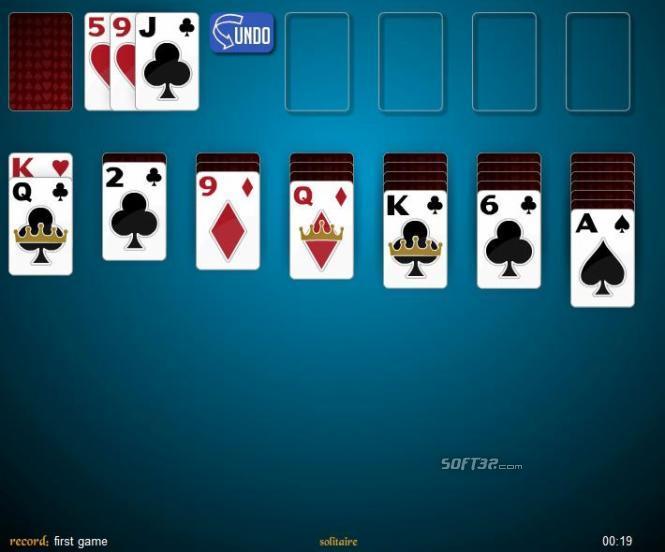 3 Card Klondike Solitaire Screenshot 2