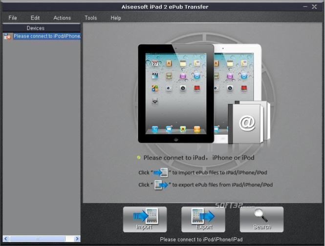 Aiseesoft iPad 2 ePub Transfer Screenshot 3