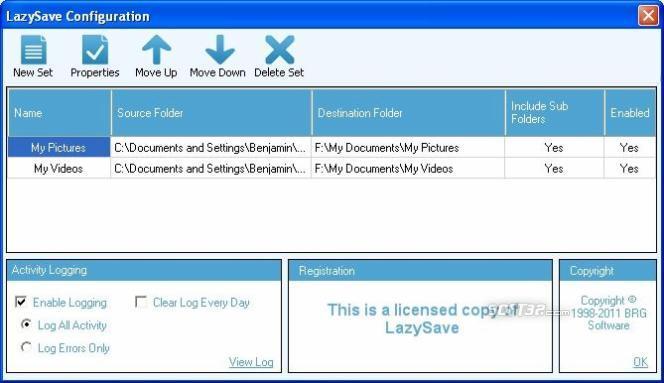 LazySave Screenshot 3