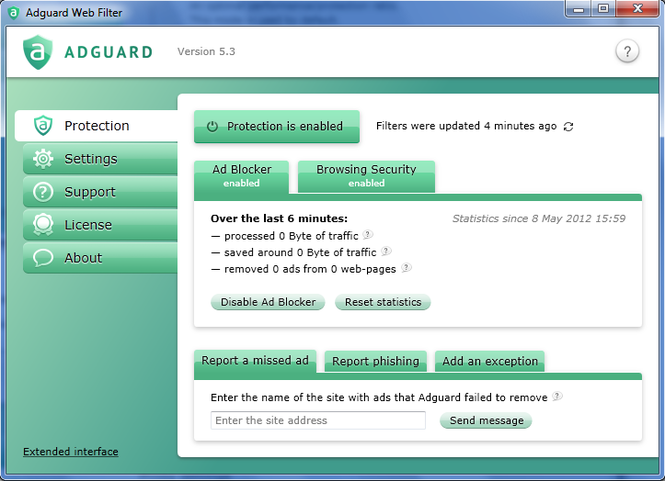 Adguard Ad Blocker Screenshot