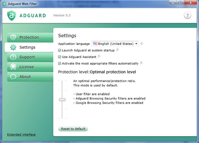 Adguard Ad Blocker Screenshot 2