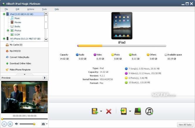 Xilisoft iPad Magic Screenshot 3