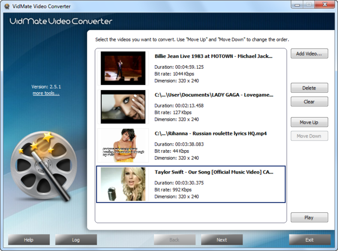 VidMate Video Converter Screenshot