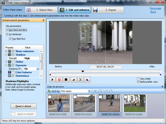 STOIK Video Enhancer Screenshot 1