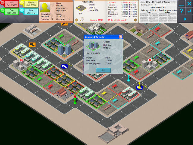 AWorld Metropolis Screenshot