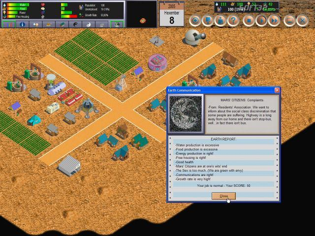 Life on Mars? Screenshot 2