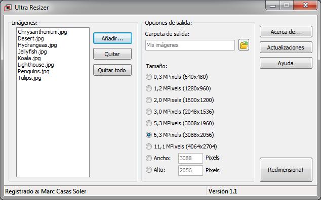 Ultra Resizer Screenshot