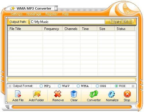 iovSoft Free WMA MP3 Converter Screenshot 2