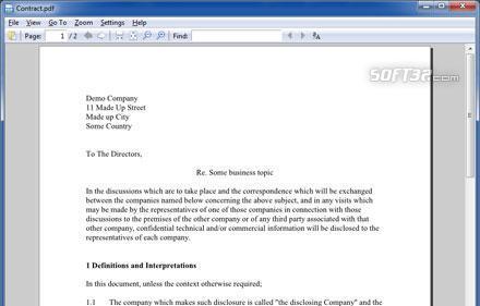 PDFlite Screenshot 2