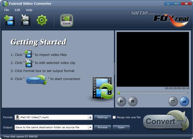 Foxreal Video Converter Screenshot 2
