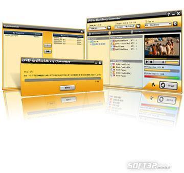 Aviosoft DVD to BlackBerry Converter Screenshot 2