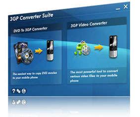 Aviosoft 3GP Converter Suite Screenshot 1