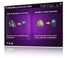 Aviosoft Blackberry Converter Suite Screenshot 2