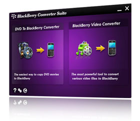 Aviosoft Blackberry Converter Suite Screenshot 1