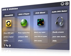 DVD X Utilities Screenshot