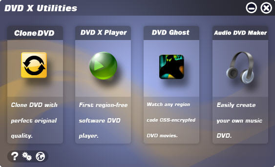 DVD X Utilities Screenshot 3