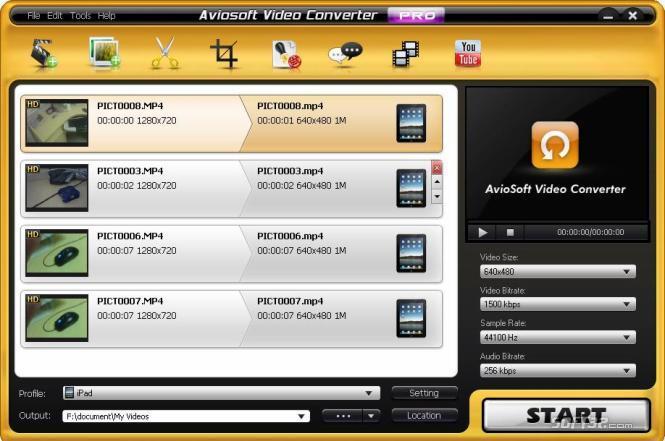 Aviosoft Video Converter Professional Screenshot 2