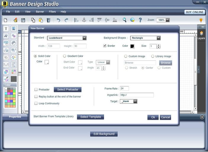 Banner Design Studio Screenshot 1