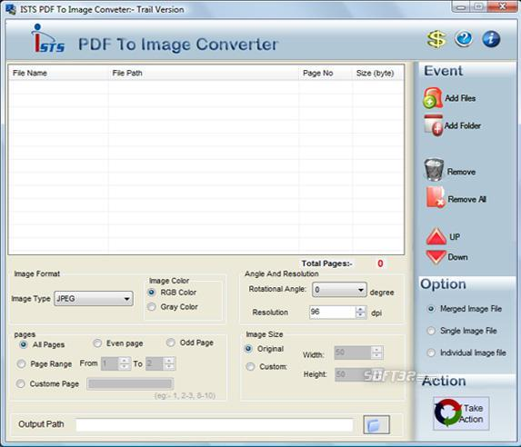 PDF File to Image Converter Screenshot 3