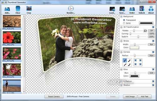 3D Thumbnail Generator Screenshot 3