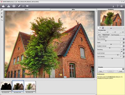 AKVIS HDRFactory Screenshot 1
