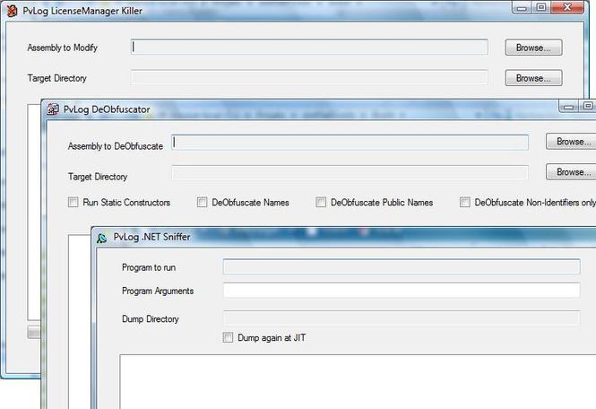 dotNetTools Win32 Screenshot 1