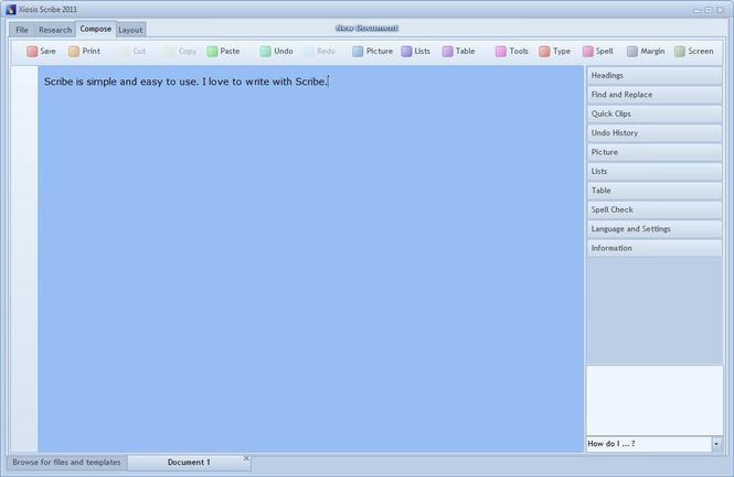 Xiosis Scribe Screenshot