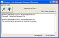 Windows Live Messenger Password Recovery 1