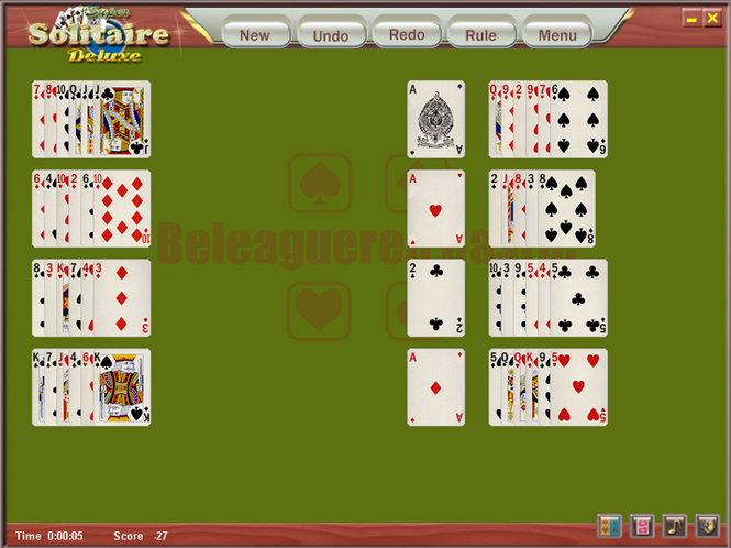 Holiday Solitaire Screenshot