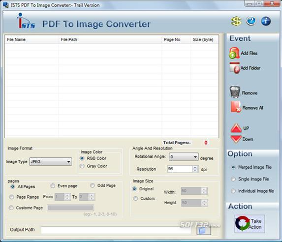 PDF File to Images Converter Screenshot 2