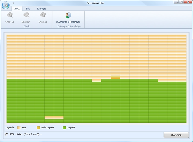 CheckDrive 2011 Screenshot 1