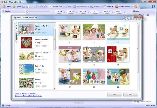 Baby Album DIY Screenshot 2