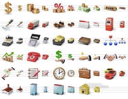 Desktop Business Icons Screenshot 3