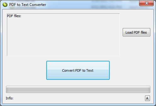 LotApps Free PDF to Text Converter Screenshot