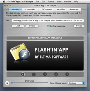 Flash'In'App Screenshot
